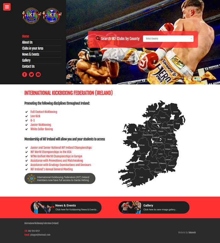 International Kickboxing Federation (IKF) Ireland