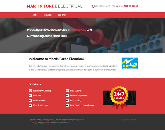 Martin Forde Electrical