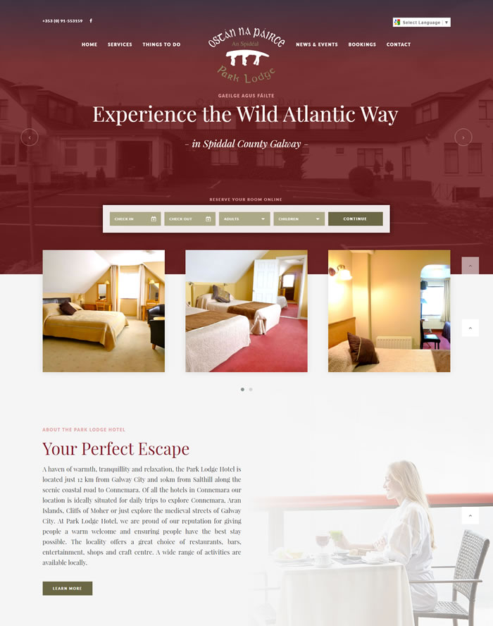 The Park Lodge Hotel Spiddal County Galway